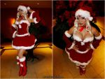 Christmas Urd - Ah My Goddess by yayacosplay