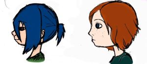 profiles, coloured by lemonybiohazard