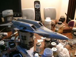 Revell 1/48 MiG 29A progress.... by Visual-Smut