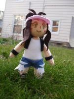 Trainer White Plushie by dollphinwing