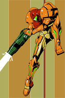 Samus Aran by PennsylvanniaFlyboy