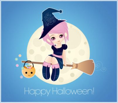 Happy Halloween by minercia