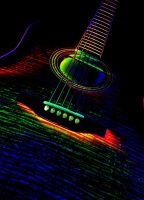 Acoustic Lady Land Under The Neon Lights by BigKrap