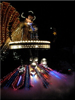 Mickey in the Spectro Parade by WDWParksGal