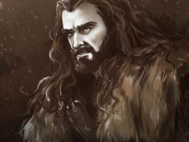 Thorin OMNONMNOMAN by Oriental-Lady