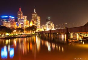 Friday Night in Melbourne by DanielleMiner