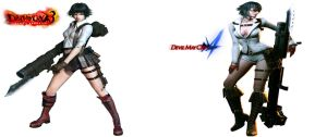 Lady AKA Mary Evolution (In DMC) by Rehman-1999