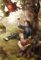 Games with Me: Apple Tree. by mushroomtale