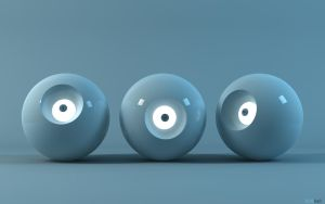 BLUEball by 3DEricDesign