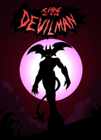 Rise of The Devilman Cover by NickinAmerica