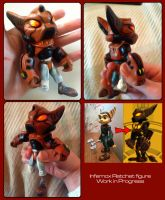 Infernox Ratchet- Custom Figure WIP by Gashu-Monsata