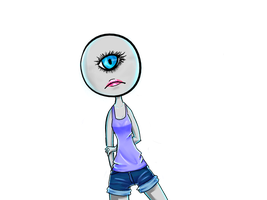 Cyclop girl by xTimelessxRiver-x3o
