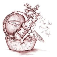 The Last Mince Pie Thief by littlehippy