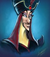 Jafar Portrait by Amadeo-Amadeo