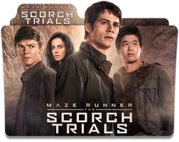 Maze Runner: The Scorch Trials Folder Icon by jesusofsuburbiaTR
