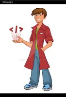 WebDesigner-Character(Color) by snkdesigns