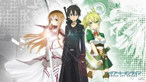 Sword art online wallpaper by Fyrokai