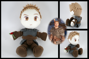 New Alistair plushie by eitanya