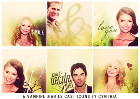 The Vampire Diaries || Icons by gotasecret-xx