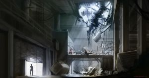 Portal 2 Environment Concept by Tchukart
