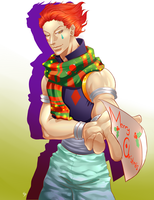 Late Merry Christmas from Hisoka by SarimNarim
