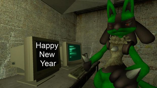 Happy New Year by Mr-Masculine