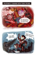 Marvel X Pacific rim comic 01 by Brilcrist