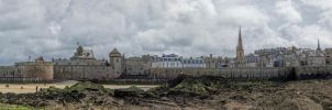 Old St. Malo by rhipster