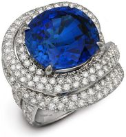Sapphire and Diamond Ring II by DianaVincent