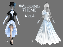 Outfit adopt [CLOSED] Wedding Theme vol 1 by lealin