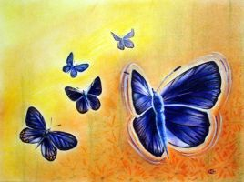 The Karner Blue Butterfly by mmmdonuts
