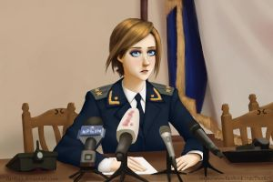 Natalia Poklonskaya! fan art by Danfer3