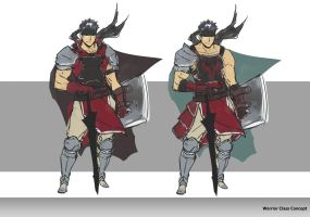 Warrior concept by FF69