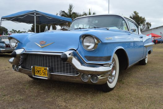 1957 Cadillac Coupe DeVille III by Brooklyn47