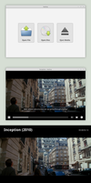 Audrey - A Movie Application by spiceofdesign