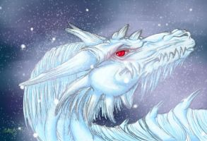 Matriarch of First Snow by Hatuibwari