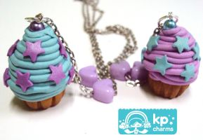 pastel cupcakes by KPcharms