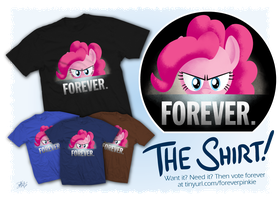 FOREVER - The Shirt by kefkafloyd