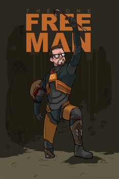 The One Free Man - Half-Life 2 by Girl-on-the-Moon
