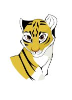 Tigress Colored by LarsEliasNielsen