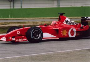 Schumacher Imola 2003 by luis75