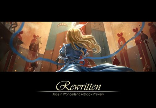 Rewritten Artbook Preview by RedPear