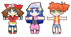 little poke girl cheebs by KNicARTS