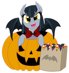 Halloween/Nightmare Night Pony by TheCheeseburger