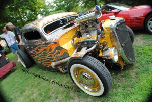 Flamin Hot Rod truck by RedlineGearhead