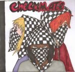 Checkmate CD cover art by K-M-Bloomy