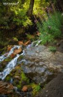 The Rushing of the Waterfall by mjohanson