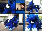 Princess Luna Amigurumi by Ignition4596