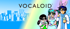 Easter Vocaloids by KorianderBullard