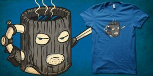 mr Muggsy the mugger shirt by biotwist